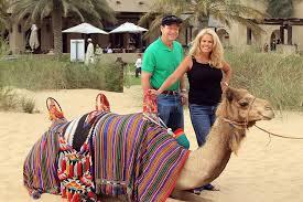 Tom Watson, Hilary Watson - Tom Watson and Hilary Watson Photos - Tom  Watson Visits The Jumeirah Bab Al Shams Desert Resort In Dubai - Zimbio