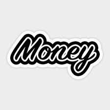 Money Hustle Motivation Dream Cash Vinyl Decal Laptop Quote Cartoon Sticker Ebay
