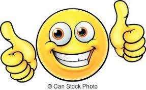 Haut, smiley, pouces, emoji. Haut, sien, icône, très, pouces, il ...