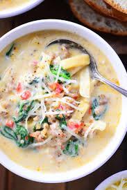 italian sausage soup recipe the gunny