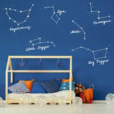 Star Constellations Wall Stickers Space Themed Wall Stickers Wall Decals Ebay