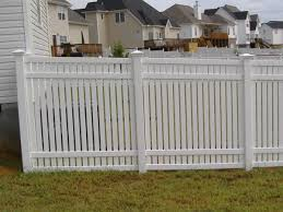 Premium Vinyl Spaced Privacy Fencing Bryant Fence Company