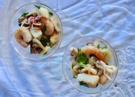 Marinated Seafood Appetizer