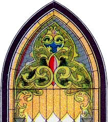 stained glass church window images