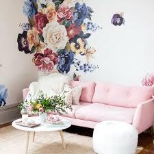 Urban Walls Vintage Floral Wall Decal Reviews Wayfair