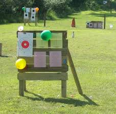 creative firing range target ideas