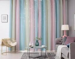 Cute Kids Curtains Etsy