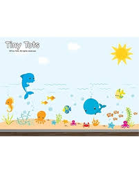 Special Prices On Nursery Wall Decals Kids Room Wall Decals Under The Sea Wall Decal Sea Wall Decals Ocean Wall Decal Sea Creature Decal Fish Under Water Wall Decals