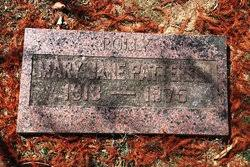 "Mary Jane ""Polly"" Patterson (1913-1975) - Find A Grave Memorial"