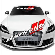 Car Front Window Windshield Banner Decal Auto Glass For Darkside Motor Sticker Ebay