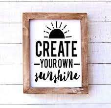 Create Your Own Sunshine Vinyl Decal This Life Made Easy