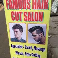 famous hair cutting saloon noida