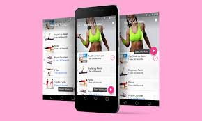 new launch toned fitness app for android