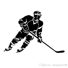 2020 Ice Hockey Vigorous Style Manly North Fashion Car Sticker Ca 459 From Zhangchao188 1 02 Dhgate Com