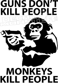 Harambe Monkey Decal Sticker Decalmonster Com