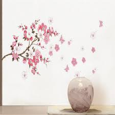 Plum Cherry Blossom Flower Wall Decal American Wall Decals