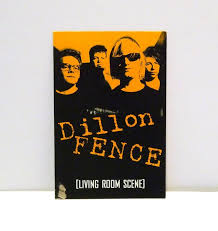 Dillon Fence Postcard 1994 Vintage Living Room Scene Band Card Etsy Dillon Postcard Scene