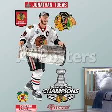 Nhl Chicago Blackhawks Jonathan Toews 2013 Stanley Cup Wall Decal Sticker Wall Decal Allposters Com