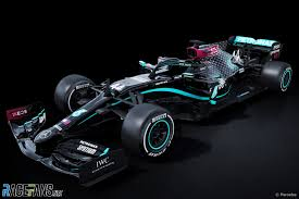 Mercedes Reveals New Black End Racism Livery For F1 Car Racefans