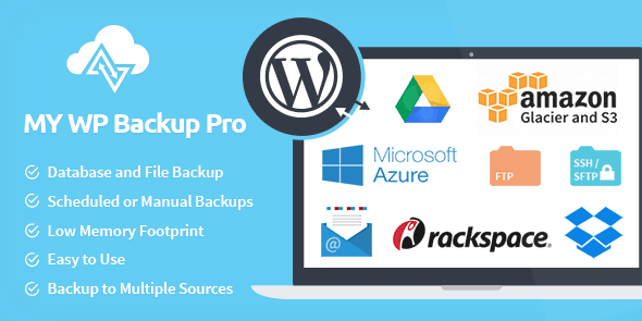 MyThemeShop My WP Backup Pro WordPress Plugin