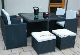 b m garden furniture outdoor cube set