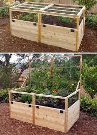 3 X6 Convertible Raised Garden Bed Gardens To Gro