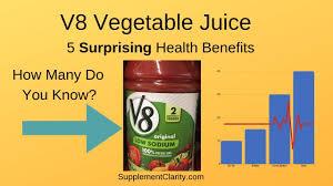 v8 vegetable juice review 5 surprising