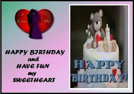 happy birthday sweetheart programu zilizo kwenye google play