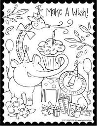 Make A Wish Kleurplaten Verjaardag Knutselen Kleurplaten Voor
