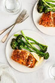 Parmesan Crusted Cod - Kim's Cravings