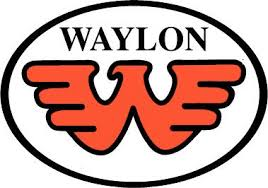 Waylon Jennings Silver On Black Vinyl Sticker Real Country Music Decal