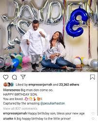 Stella Dimoko Korkus Com Actress Lilian Esoro And Ubi Franklin Celebrate Their Son Jayden S 3rd Birthday With Long Posts