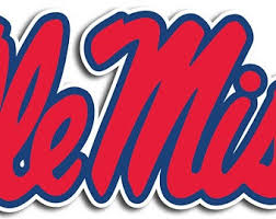 Ole Miss Decal Etsy