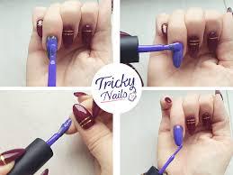 Manicure Kombinowany Czyli Malowanie Pod Skorki Lakierem