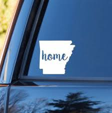 Arkansas Home Decal Arkansas State Decal Homestate Decals Love Sticker Love Decal Car Decal Car Stickers Family Car Decals Car Decals Family Car