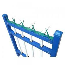 Durable Razor Wall Security Spikes Fence Tops Powder Coating Black Green For Sale Wall Security Spikes Manufacturer From China 110010007