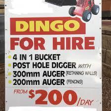 Yp Dingo Hire Local Service Wallaroo Plain Facebook 9 Photos