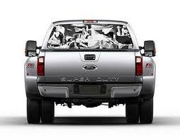 Aurora Borealis Northern Lights Rear Window Decal Sticker Car Truck Suv Van 667