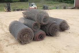 6 Rolls Of 5ft Tall Woven Wire Fence Spencer Sales