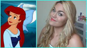 little mermaid hair and makeup
