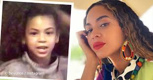 Momma's Twin! Beyonce Shared A Lovely Comparison Photo Of Her ...