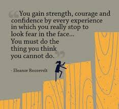 inspirational quotes on you gain strength courage and