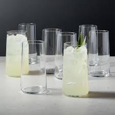 modern drinking glasses cb2 canada