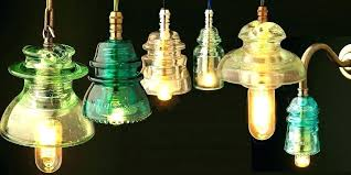 power line insulator lamp