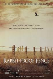 Draft American One Sheet Poster For Rabbit Proof Fence Nfsa