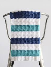 crochet nautical baby blanket daisy