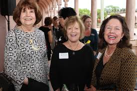 Ringling circle members gather for exhibition dinner - Elizabeth Wert,  Kristine Bundrant and Kathryn Carr | Your Observer