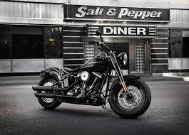 harley diner motorcycle wallpaper
