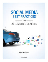 Social media best practices for automotive industry