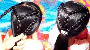 تسريحات شعر للاطفال سهلة للشعر الطويل